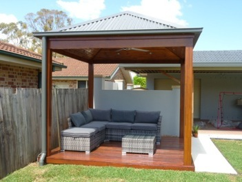Macro Building Solutions Merbau Gazebo